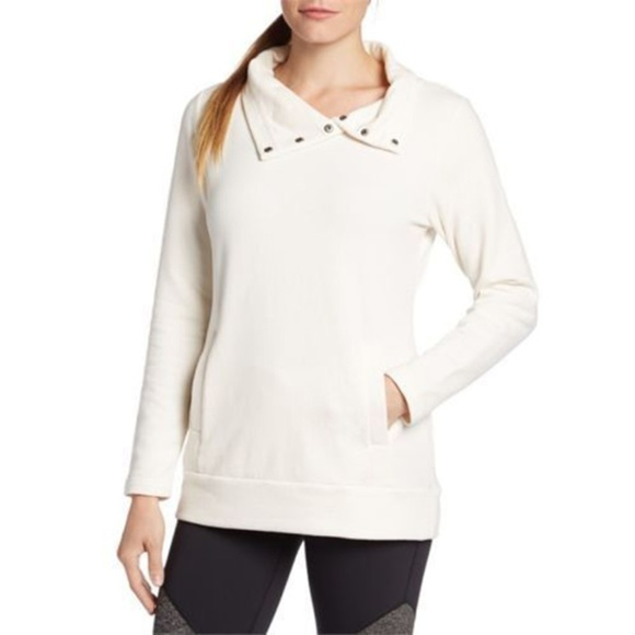 Lucy Tops - Lucy Ivory Journey Within Pullover Sweatshirt